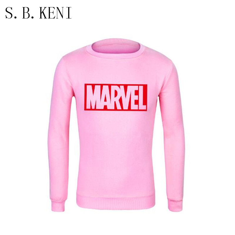 2018 New Super Hero Marvel Sweatshirts Fashion Cotton Men Hoodies Marvel Cool Printed Sweatshirts Men Clothing Free Shipping
