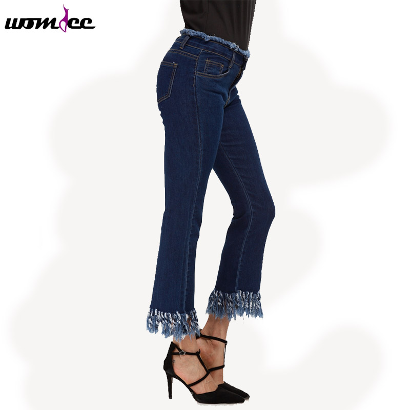 M-5XL Women Jeans Low Waist Jeans Woman Elastic plus size femme washed casual skinny pencil Flare pants with Tassels djgrster jeans for women with low waist jeans woman high elastic plus size women jeans femme washed casual skinny pencil pants