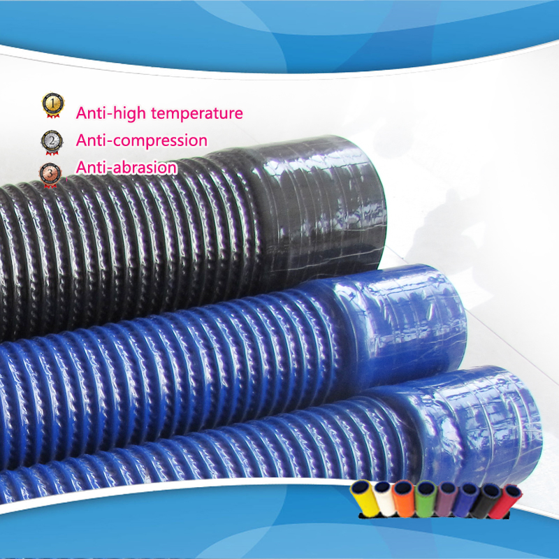 ID:28/30/32/35/38/40/42/45/48/51/54/57mm Replace Auto Bend Silicone Tube Hose Rubber Steel Tube Pipe