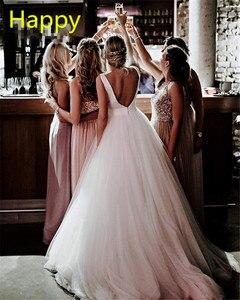 Image 5 - Платье для свадьбы SoDigne, белое/цвета слоновой кости, с бантом, без рукавов, на молнии, с открытой спинкой, на заказ, 2019