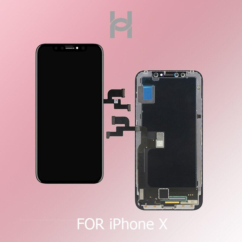 Nouveau 1:1 D'origine OEM Qualité OLED/TFT Pour iPhone X ecran LCD de Remplacement Avec Visage Reconnaissance Livraison Gratuite