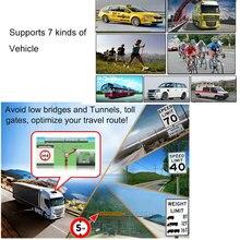 Xgody 7 Inch Car Gps Navigation Truck Gps Navigator Touch Screen Sat Nav Bluetooth Optional Free Map Spain Navitel Europe 2018