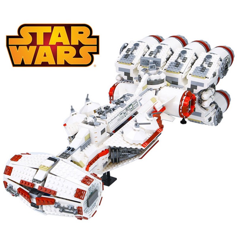 LEPIN 05046 Star Fighter Series Tantive IV Rebel Blockade Runner 10019 Building Blocks 1748pcs Bricks Toys Gift For Children lepin 05046 1748pcs star war series the tantive iv rebel blockade runner set building blcoks bricks toys for children gift 10019
