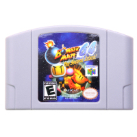 N64Game Bomberman 64 The Second Attack Video Game Cartridge Console Card English Language US Version (Can Save)