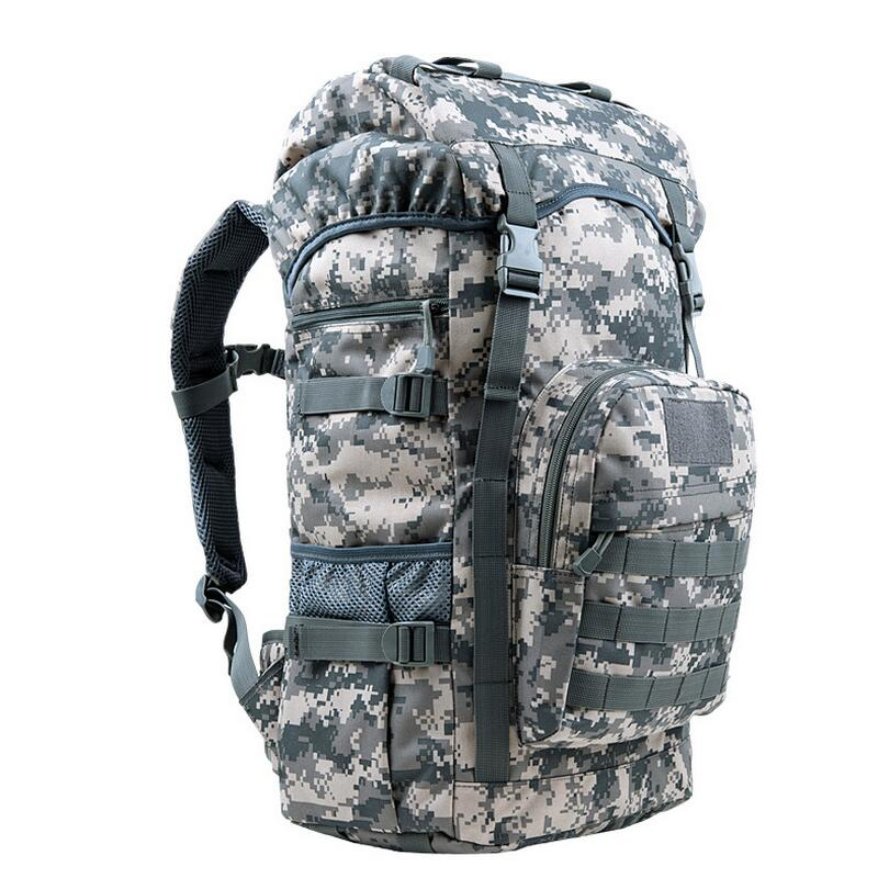 50L Tactical Backpack Men Outdoor Travel Bag Hunting Military Backpack Fishing Camping Trekking Hiking Bag Camouflage Rucksack