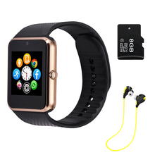 Multilingual Smart Watch Clock Sync Notifier Support Sim Card Bluetooth for IOS Android Phone font b