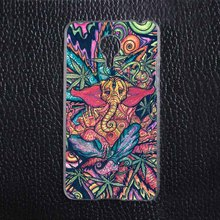 Funny Trippy Elephant Plastic Protective Shell Skin Bag Cover Case For Meizu MX4