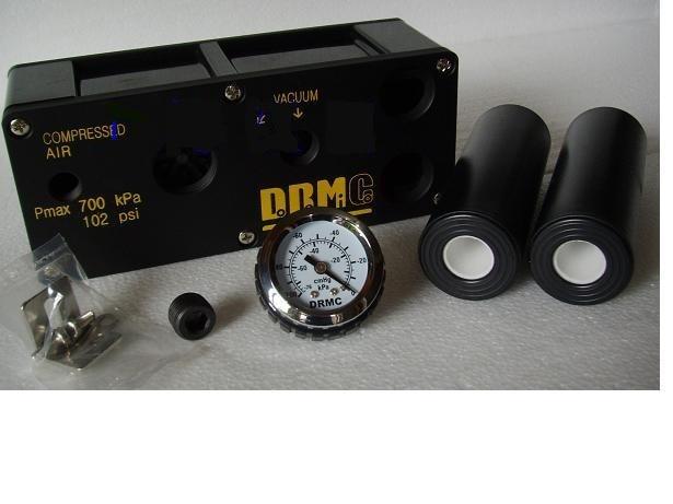 Original genuine Korean DRM vacuum generator MVF90D-20-G MVF90D-20 scv 20 rc1 4 vacuum ejector smc type vacuum generator