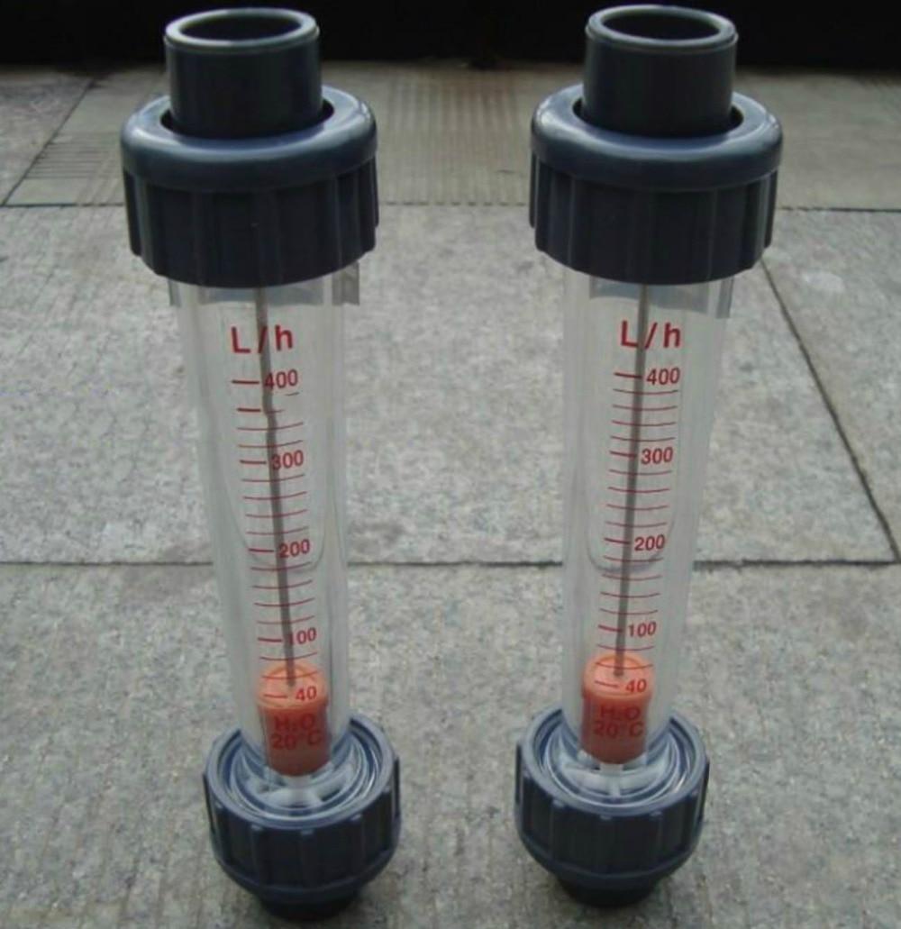 LZS-65 plastic tube type rotameter LZS flow meter flowmeter Tools Measurement Measuring Instruments FlowMeters LZS65 PVC Tube  lzs 50 1 10m3 h plastic tube type series rotameter flow metertools measurement analysis flow measuring instruments flowmeters