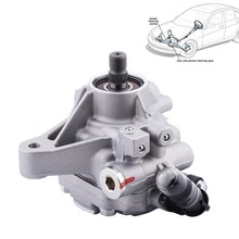 Power Steering Pump For 2006-2007 Honda Accord 02-11 CR-V 2006-2011 Element 2002-2006 Acura RSX 2006-2008 TSX