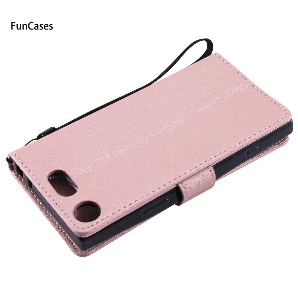 נרתיק עור PU הכי חדש sFor Hoesjes Sony XZ1 רך סיליקון חזור מקרה עבור Sony Xperia XZ1 קליפים נרתיקי כיסוי חמוד Telefon Coque