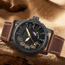NAVIFORCE Men's Brand Fashion Luxurious Quartz Wristwatch