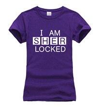 Sherlock Holmes Short Sleeve WOMEN T-shirt