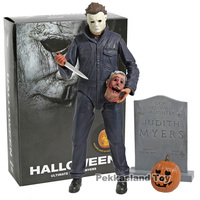 NECA 2018 Movie Halloween Ultimate Michael Myers with LED Light PVC Action Figure Collectible Model Toy