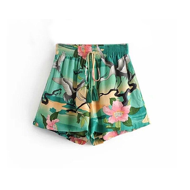 Bohemian Wrap Blouses & Shorts