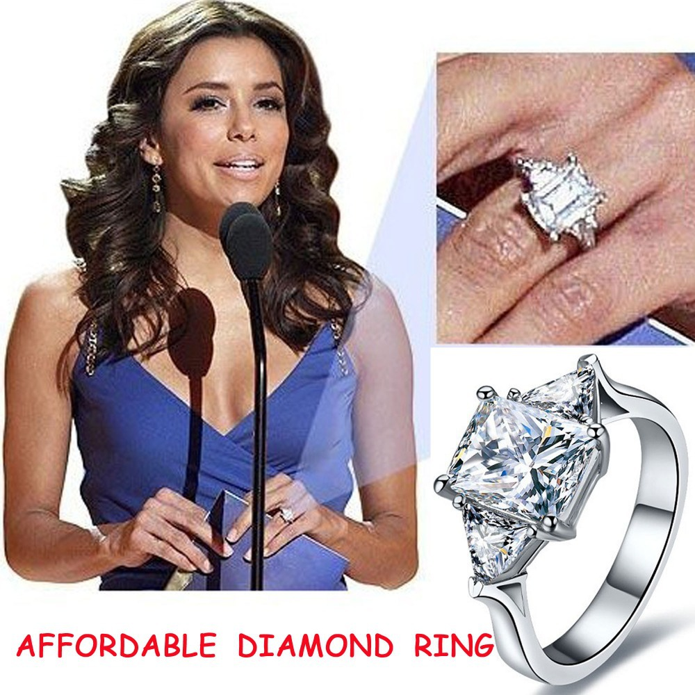 rings lively amazing celebrity engagement stewart celebrings vert martha weddings