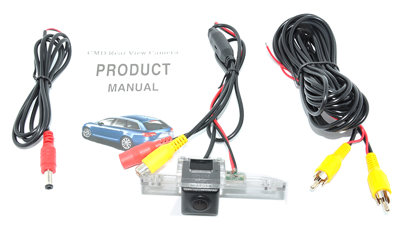 C-Max Mondeo 2007-2009 2000-2007 Rear View Car Camera for Ford Focus 3C