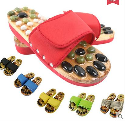 Natural pebbles massage slippers for men and women a foot care massage shoes foot massage foot massage that occupy the home morais r the hundred foot journey