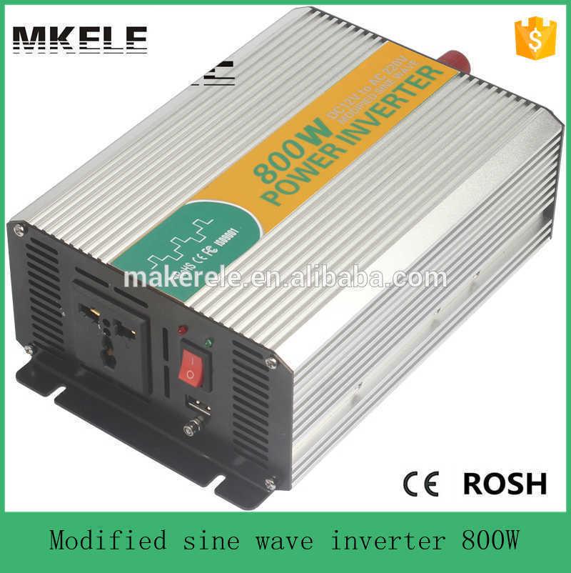 Peak 800-1200W Modified Sine Wave 12V DC To 110V AC Power Inverter Heavy Duty YR