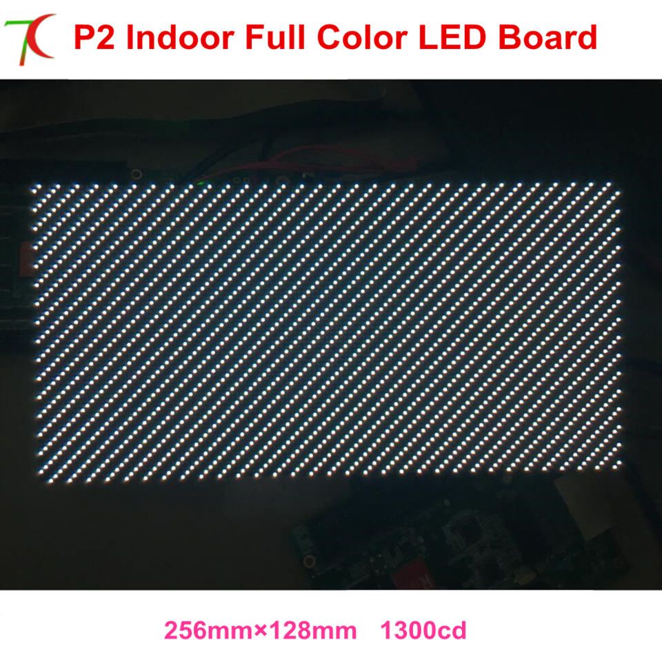 256*128mm P2 Indoor  Full Color Led Modules For High Definition Led Display,250.000dots/sqm