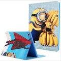 Горячая распродажа миньон чехол для Ipad air 1 высокое качество искусственная кожа и тпу материал смарт держатель для Ipad 5 A1474 A1475 A1476