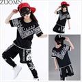 Children Hip-hop Jazz Dance Clothes Suit Boys Girls Performance Clothing Kids Street Costume Clothes Sets Hip Hop YL481