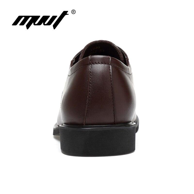 MVVT Plus Size sukienka buty z prawdziwej skóry moda Pointed Toe mężczyźni oksfordzie wysokiej jakości skórzane buty męskie stałe mężczyźni mieszkania buty w Buty wizytowe od Buty na  Grupa 3