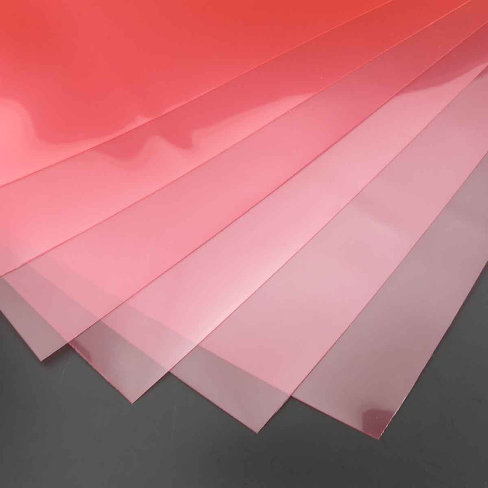 Pp Transparent Plastic Film Material Diy Handmade Paper