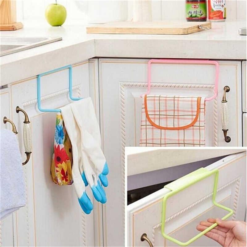 ไม้แขวนเสื้อบาร์ห้องน้ำห้องครัว Top Home องค์กร Candy สีประตูผ้าเช็ดตัวราว