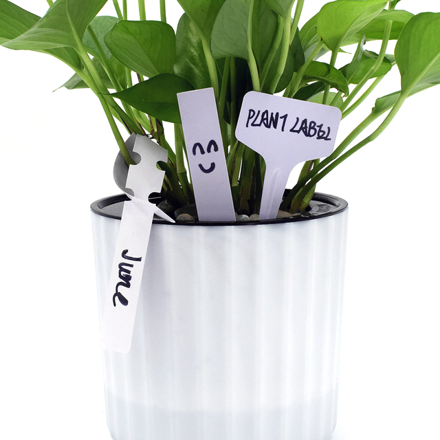 300pcs Plastic Plant Labels Uv Resistant Seed Blank Pot Marker Nursery Pots Garden Stake Tags