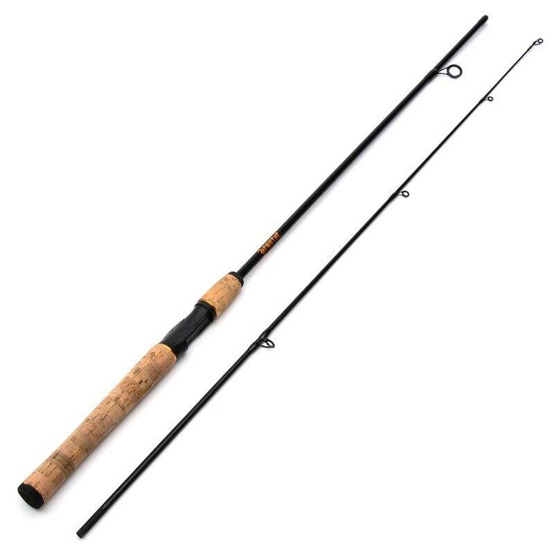 2 Sec 1.8M /2.1m Line Wt.6 -15LB Lure Wt.6-12g Carbon Lure Spinning Rod Casting Rod EVA Handle Fishing Rod Fishing Tackle