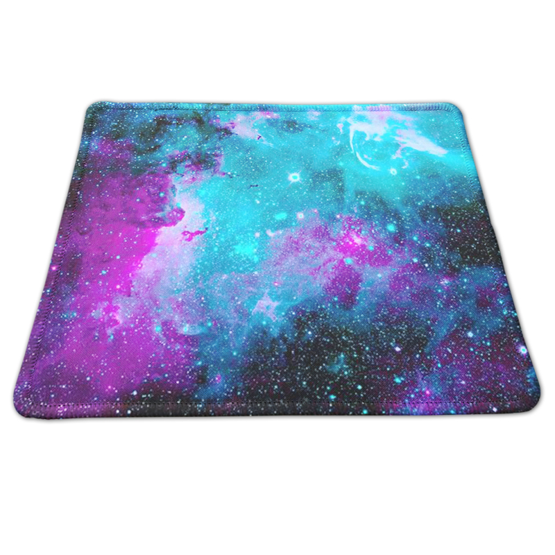 Customized The Starry Sky Painting Rectangle Non-Slip Rubber Mousepad Laptop PC Gaming Mice Mat For Optical Laser Mousemat