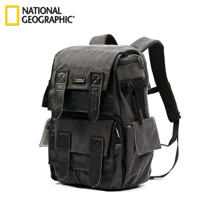 Free shipping New Genuine National Geographic NG W5071 Camera Case Bag Shoulders Bag Backpack Rucksack Laptop Outdoor wholesale exempt postage ems national geographic ngw5070 ng w5070 walkabout 5070 doubleshoulder dslr camera rucksack backpack laptop bag