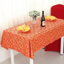 Plant Western Restaurant Feast Tablecloth Round Rectangle Square Wedding Table Cloth Everything For The Kitchen