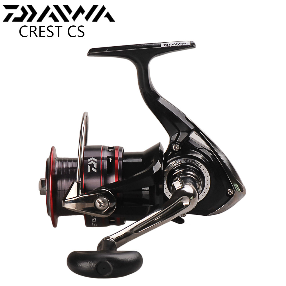 100% Originale DAIWA CREST CS 2500 Spinning Reel Fishing 3 + 1BB 5.3: 1 Max Trascina 4 kg In Alluminio Spool Saltewater Carp Fishing Reel
