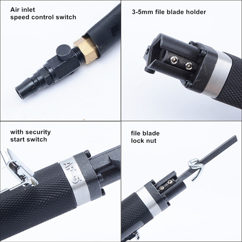 Attacco pneumatico da 5 mm per file di ricambio pneumatico File - Utensili elettrici - Fotografia 5