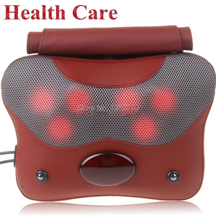 2019 Health product beauty cheap price multi-function massage pillow tapping back massager pillow
