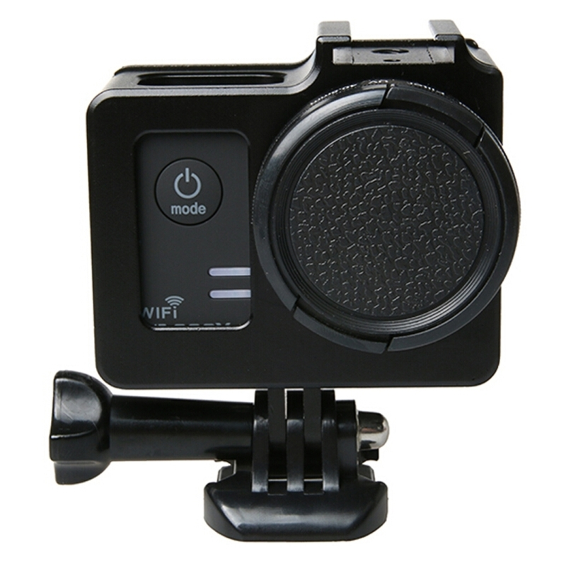 SJCAM SJ5000 SJ5000+ SJ5000x Protective Housing Case Cover Metal camera accessories alloy cage cover frame 40.5mm UV filter
