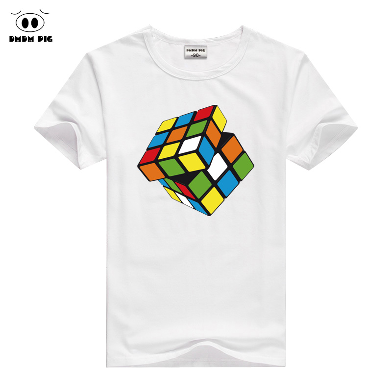 DMDM PIG 2017 Printed T-Shirts For Boys Girls Tops Kids T Shirt Size 8 10 11 12 Years Clothes Summer T-Shirt Childrens Clothing цена и фото