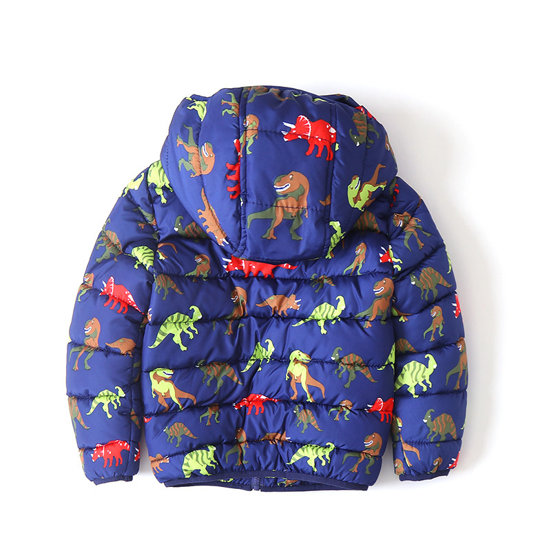 9a630f19962 IYEAL Cute Dinosaur Pattern Winter Children Coat Kids Hooded Jacket Parkas  Boys Outerwear Active Baby Clothes Toddler Clothing