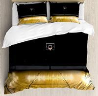 Постельное белье, пустой баскетбол Арена конкурс выиграть Чемпион успех тема, 4 комплект постельного белья