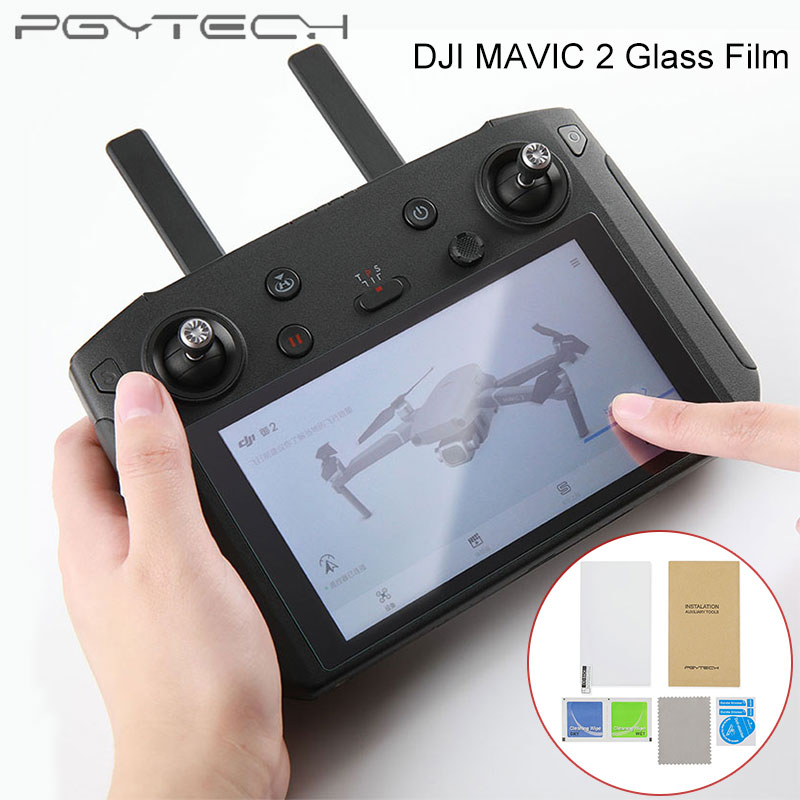 PGYTECH Screen Protective Film Tempered Glass Film For DJI MAVIC 2 PRO & ZOOM Drone Smart Controller Accessories
