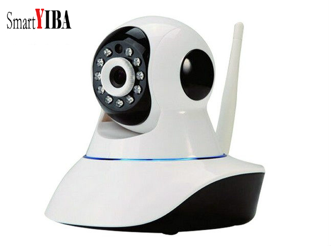 SmartYIBA IOS Android APP Control 2.4G Wireless WIFI IP Camera HD 720P Yoosee Camera For Home Security Alarm System