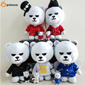 "[PCMOS] Korea Kpop BIGBANG Bear GD G-DRAGON TOP TAEYANG DAESUNG SEUNGRI 24cm/9"" Soft Plush Toy Stuffed Doll Collection 16101207"