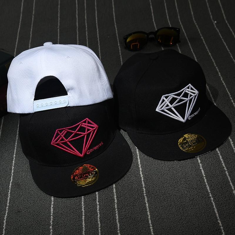 Prix pour 2017 nouvelle étiquette diamant casquette de baseball, en plein air amateurs de soleil chapeau, hip hop hip hop chapeau, nouveaux hommes et femmes chapeau, chapeau De Diamant