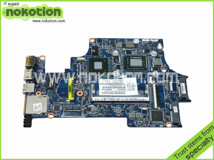 NOKOTION for HP FOLIO 13 Motherboard 682564-001 LA-8044P i5-2467M HM65 GMA HD3000 DDR3 Intel Mother Board free shipping nokotion sps v000198120 for toshiba satellite a500 a505 motherboard intel gm45 ddr2 6050a2323101 mb a01
