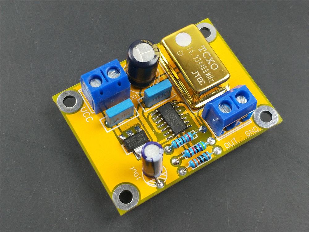 16.9344MHZ Hifi TCXO 0.1ppm Ultra Precision Golden Active DIP14 Crystal Oscillator CLOCK Power SupplY