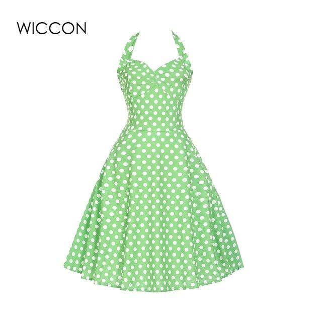 Sommerkleid frauen bright green nette kleid mädchen sleeveless ...