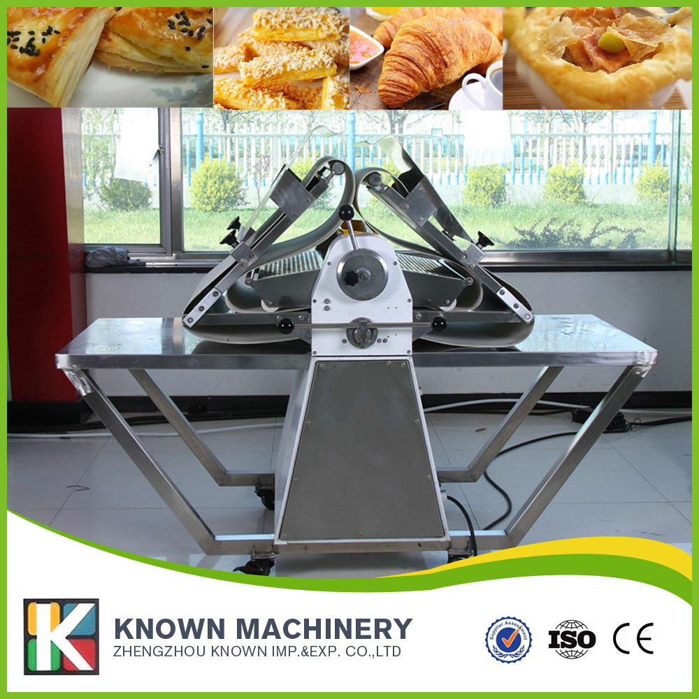 Big capacity bakery equipment for sale spain croissant machine dough sheeter pizza dough press