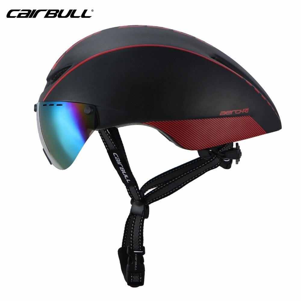 Cairbull Helm Bike Mtb Neue Modell 8 Farbe Aero Aero-r1 Glas Fahrräder Reiten Ultraleicht Mtb Tt Magnetische Uv sunblinds